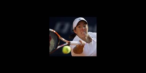 Justine Henin-Hardenne en 8-ème de finale
