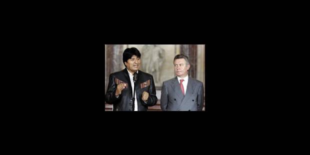 Nationalisation: Evo Morales persiste - La Libre