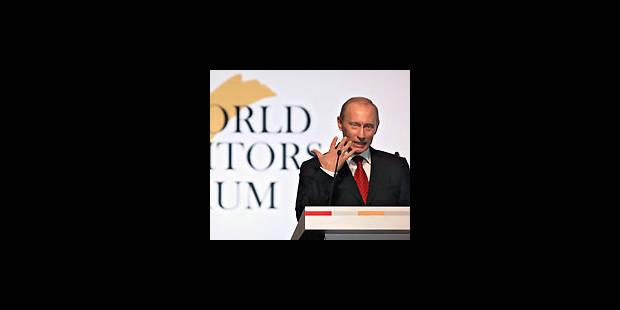 Poutine interpellé par la presse mondiale - La Libre