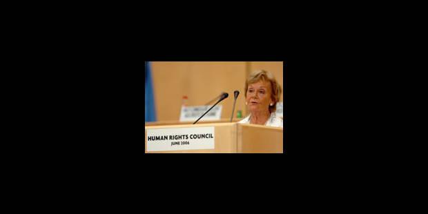Première session du nouveau Conseil des droits de l'homme - La Libre