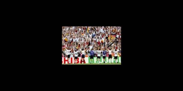 Allemagne-Argentine en quarts - La Libre