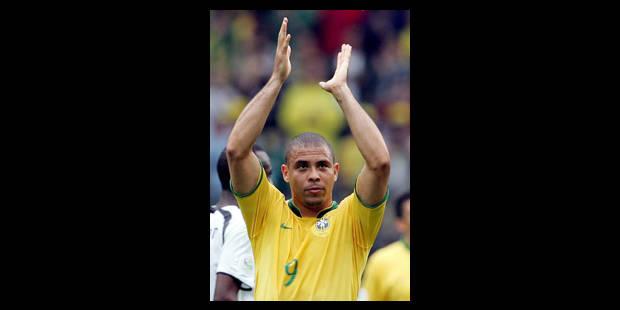 Le Brésil et Ronaldo maîtrisent un courageux mais naïf Ghana - La Libre