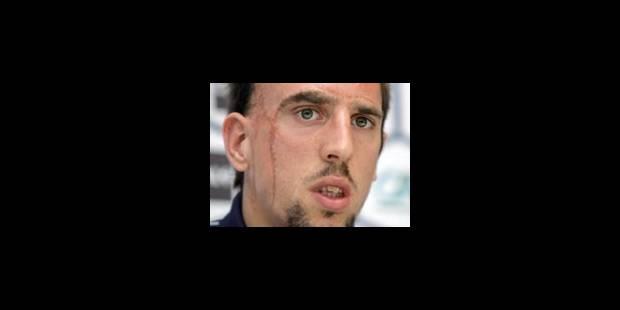 Franck Ribéry sous l'aile de Zinédine Zidane