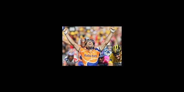 Victoire de Freire devant Boonen - La Libre