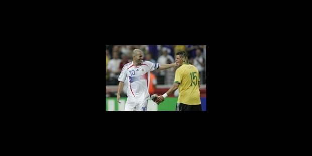 La presse brésilienne s'incline devant Zidane - La Libre