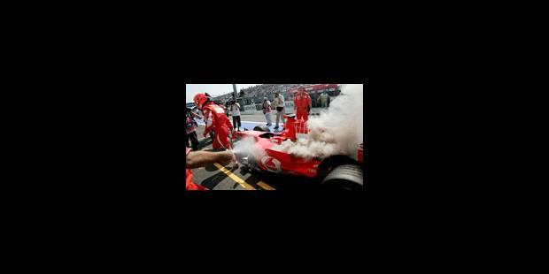 Schumacher en pole - La Libre