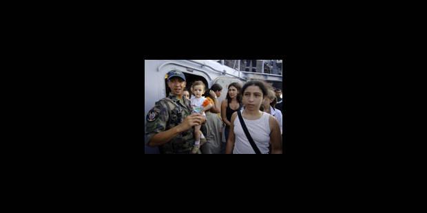 Le calvaire des réfugiés libanais - La Libre