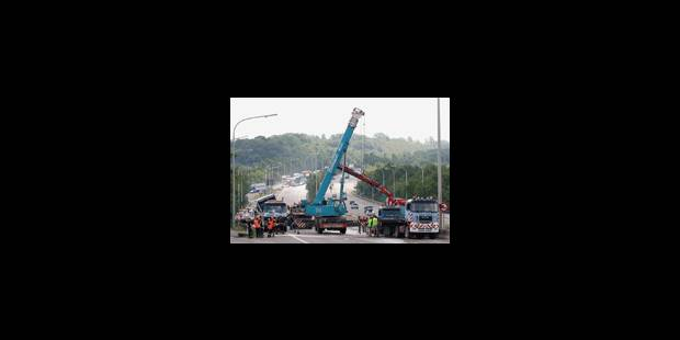 La E 411 fermée à Wavre pour plusieurs heures - La Libre