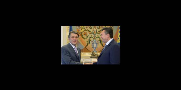 Cohabitation au sommet à Kiev - La Libre