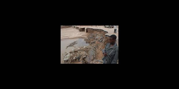 Des inondations ravagent le pays - La Libre