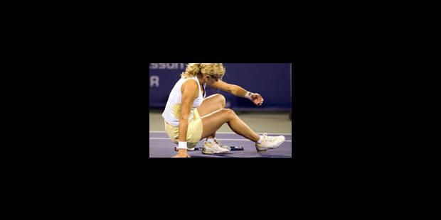 Clijsters encore blessée abandonne - La Libre