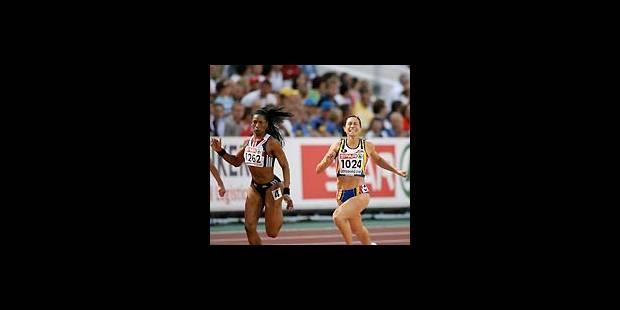 Kim Gevaert, championne d'Europe - La Libre