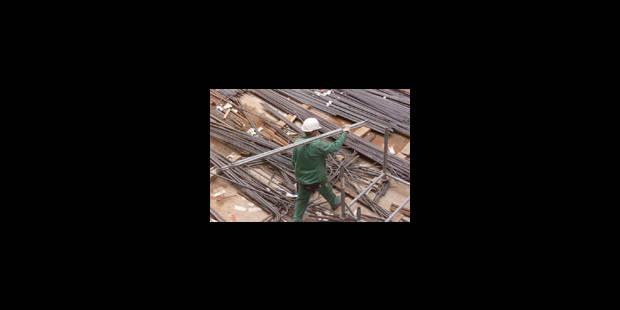 Travail au noir sur 40 % des chantiers - La Libre
