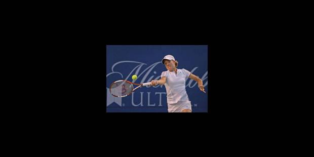 Justine Henin peut rêver d'une finale - La Libre
