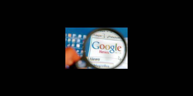 Google News demande la suspension des astreintes - La Libre
