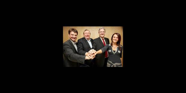 Charleroi : une tripartite PS-MR-cdH au pouvoir