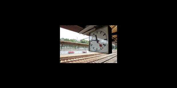 Ca va encore grincer, sur le rail - La Libre
