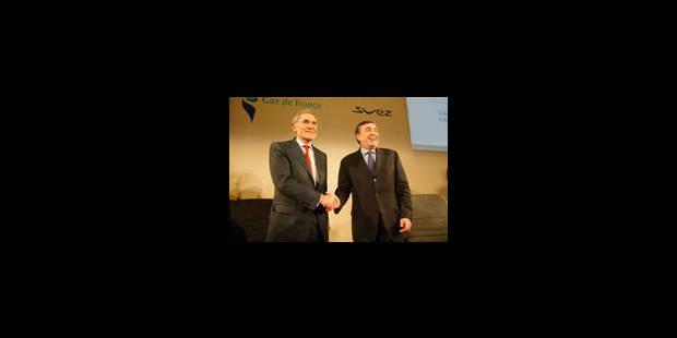 Tandem Mestrallet-Cirelli pour diriger le nouveau groupe GDF-Suez - La Libre