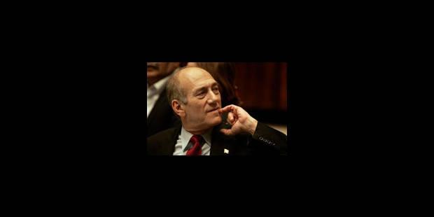 Ehud Olmert reçu par un Bush affaibli - La Libre