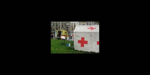 Un peu de brun sur la Croix-Rouge - La Libre