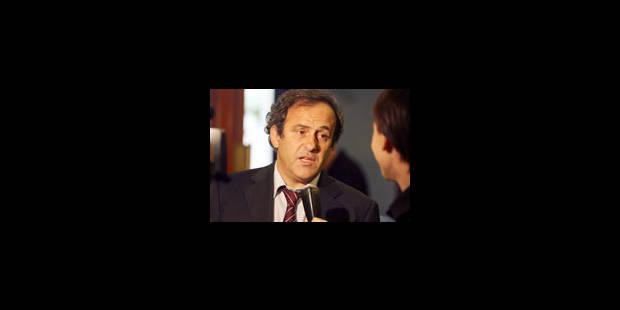 """Platini dévoile ses """"engagements"""" - La Libre"""