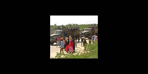 Soldats éthiopiens et somaliens en route vers Kismayo - La Libre