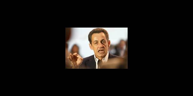 Sarkozy, candidat UMP à 98,1pc - La Libre