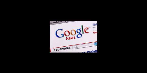 Google fait appel - La Libre