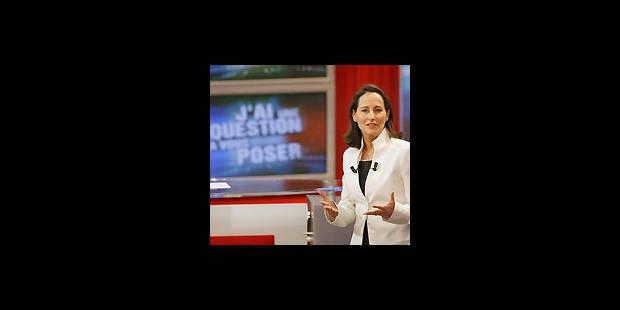 Ségolène Royal en prime time sur TF1 - La Libre