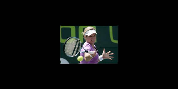 Kim Clijsters en a plein le dos... - La Libre