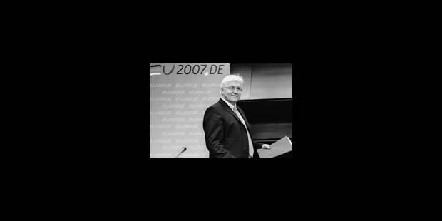 Le ministre Steinmeier sauve sa peau - La Libre