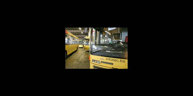 Les bus Stib en grève, le Tec Liège bloqué - La Libre