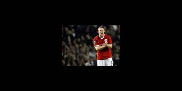 Quand Rooney répond à Kaka - La Libre