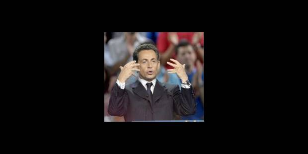 Sarkozy toujours devant dans les sondages - La Libre