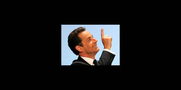 Sarkozy, et haut la main - La Libre