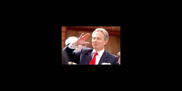 Blair annonce son retrait - La Libre
