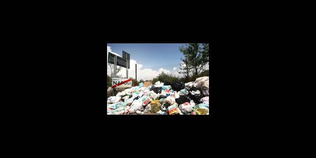 Naples sous les ordures