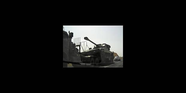 Envoi de troupes à la frontière irakienne - La Libre