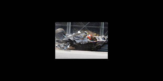 Hamilton gagne, Kubica se fait peur - La Libre
