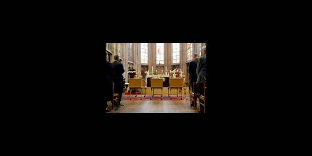 Funérailles de la famille Storme dans une église bondée - La Libre