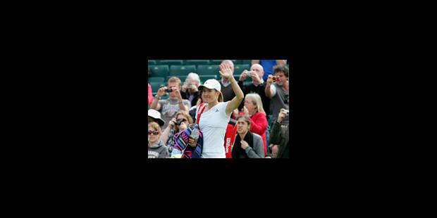 Justine Henin toujours aussi rapide - La Libre