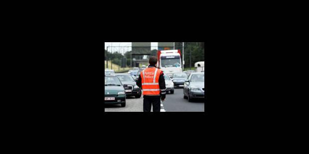 260 km de files sur le réseau routier belge - La Libre