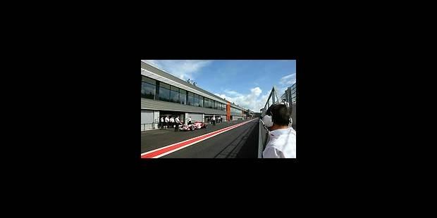 F1 à Spa : premier test positif - La Libre