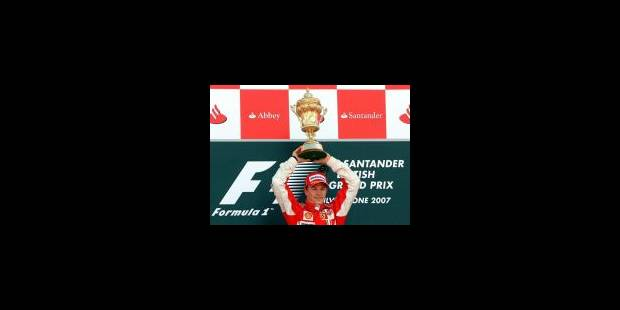 Raikkonen remporte le Grand Prix de Grande-Bretagne - La Libre