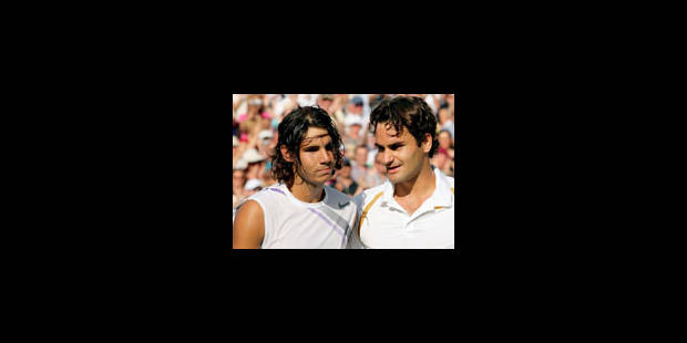 Federer rejoint Borg dans la légende du tennis - La Libre