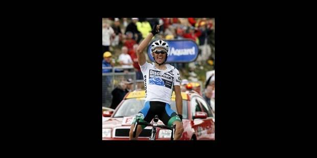 Alberto Contador vainqueur au Plateau de Beille - La Libre
