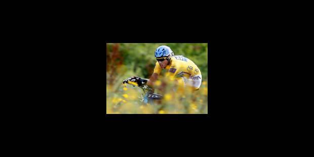 Contador sous les yeux d'Armstrong - La Libre