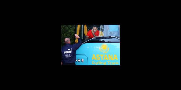 Le Tour retire son invitation à Astana - La Libre