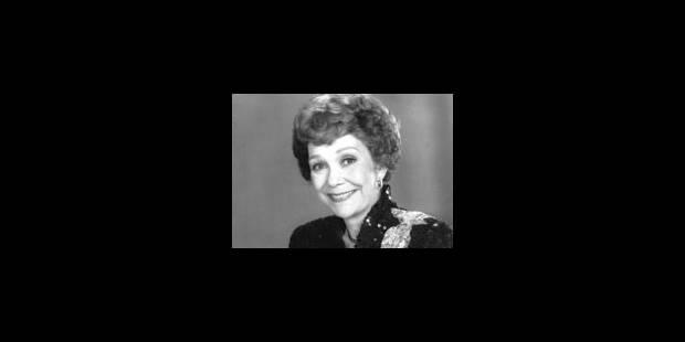 Mort de l'actrice hollywoodienne Jane Wyman - La Libre