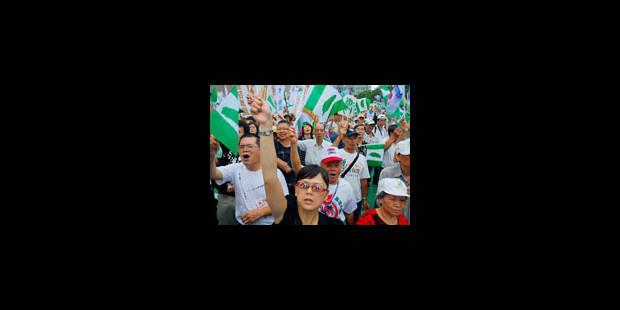 Taiwan, candidate à l'Onu - La Libre